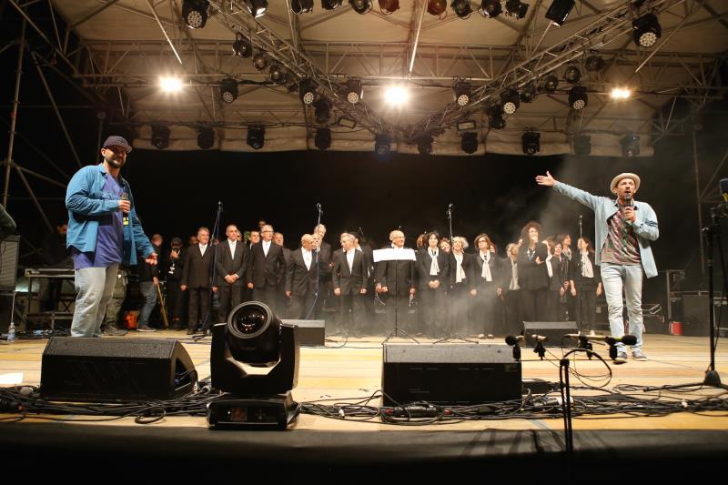 Palco alla Festa Europea della Musica a Matera