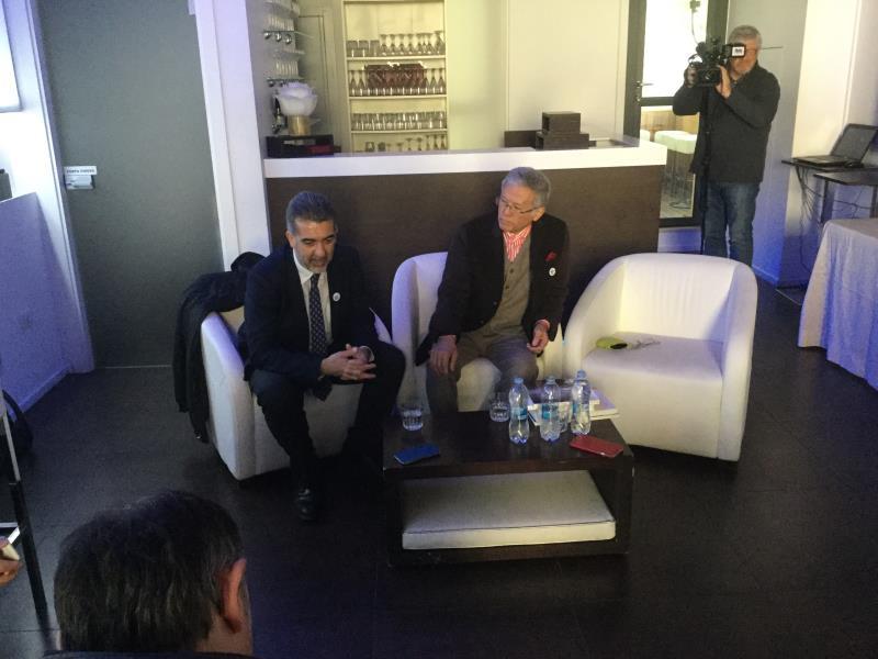 Paolo Verri e Shuji Kogi