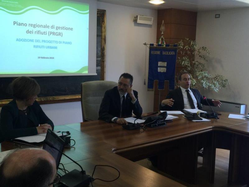 Presentazione del Piano regionale di gestione dei rifiuti