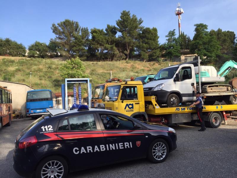 Refurtiva recuperata dai Carabinieri di Pisticci - 14 giugno 2016