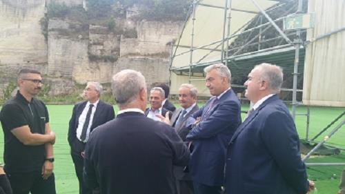 Sopralluoghi a Matera per valutazione interventi infrastrutturali
