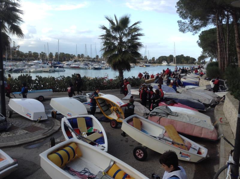Trofeo Optimist Italia Kinder + Sport 2016 al porto degli Argonauti