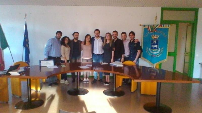 Matera consulta giovanile comunale presidente angelo for Ufficio presidenza