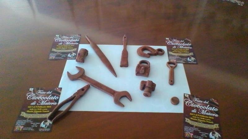 Utensili di cioccolato