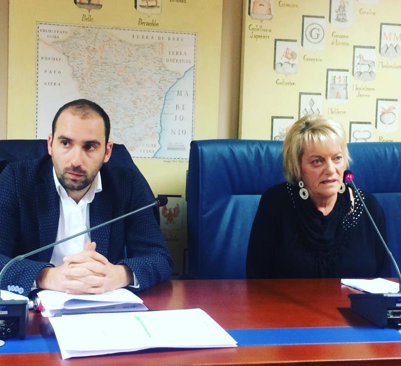 Vincenzo Robortella ed Enza Di Bello