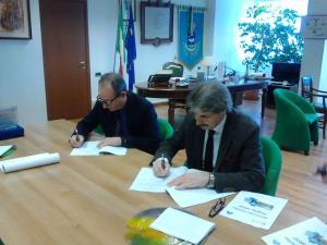 Firma del protocollo d'intesa tra Agenzia Entrate e Comune di Matera - Matera