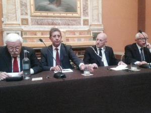 Il convegno sulla massoneria del 11 settembre (foto tratta dal sito del Grande Oriente d'Italia) - Matera