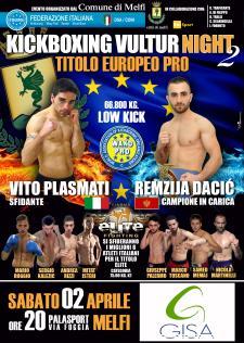 Kickboxing Vultur Night 2° edizione