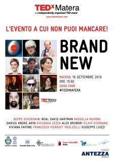 Tedx Matera 2016 - Matera