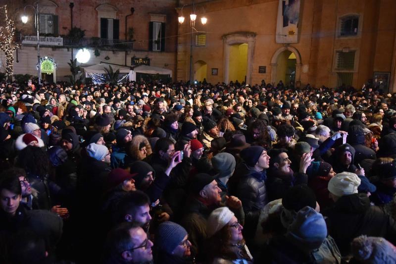 Capodanno 2017 a Matera (foto Antonio Genovese)