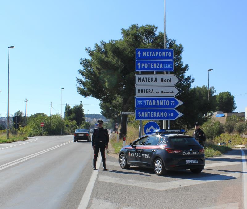 Carabinieri di Matera