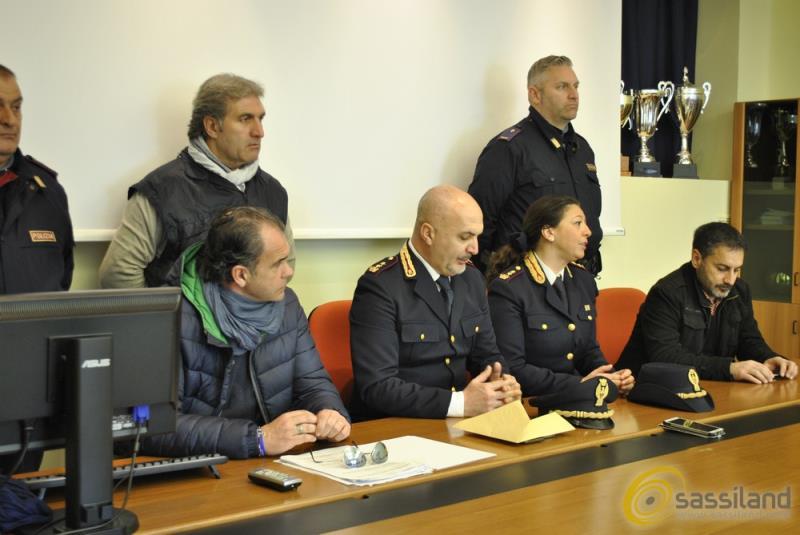 Conferenza stampa della Polizia di Stato - 7 febbraio 2017 (foto SassiLand)
