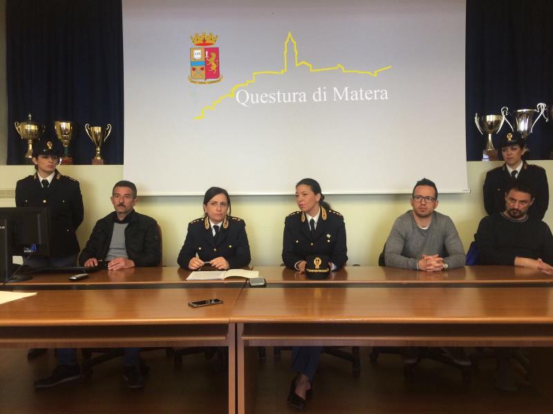 Conferenza stampa Digos - 24 marzo 2017