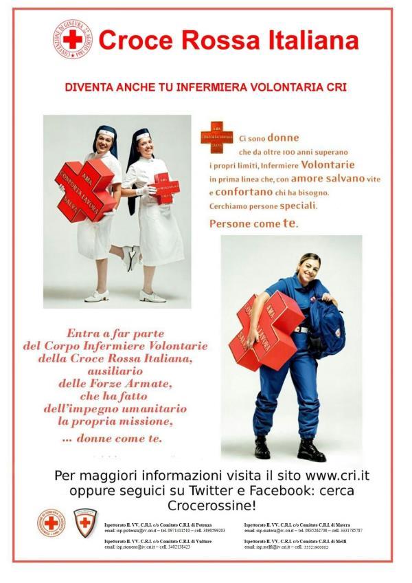 Corso di Infermiere Volontarie della Croce Rossa Italiana
