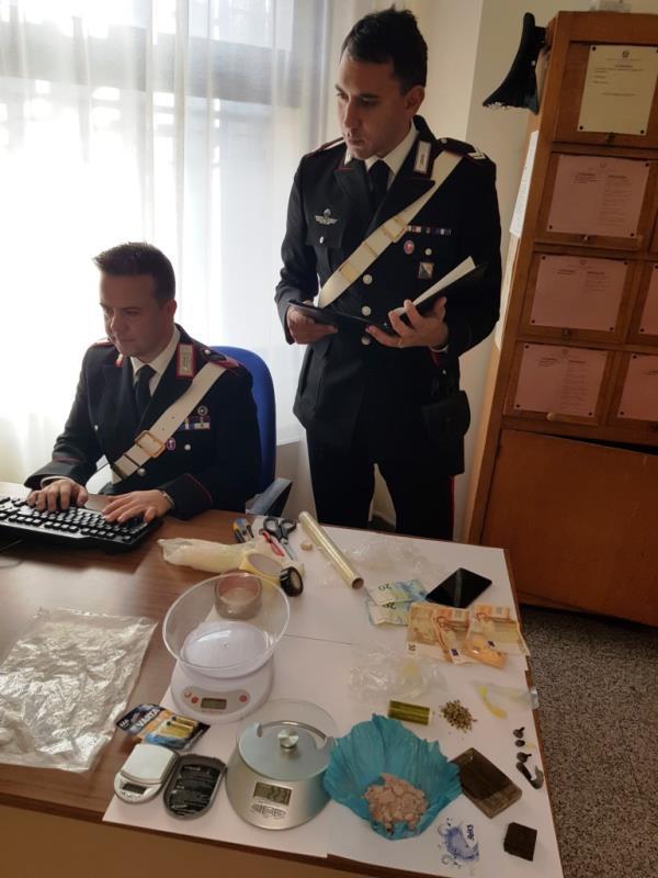 Droga sequestrata a Stigliano dai Carabinieri