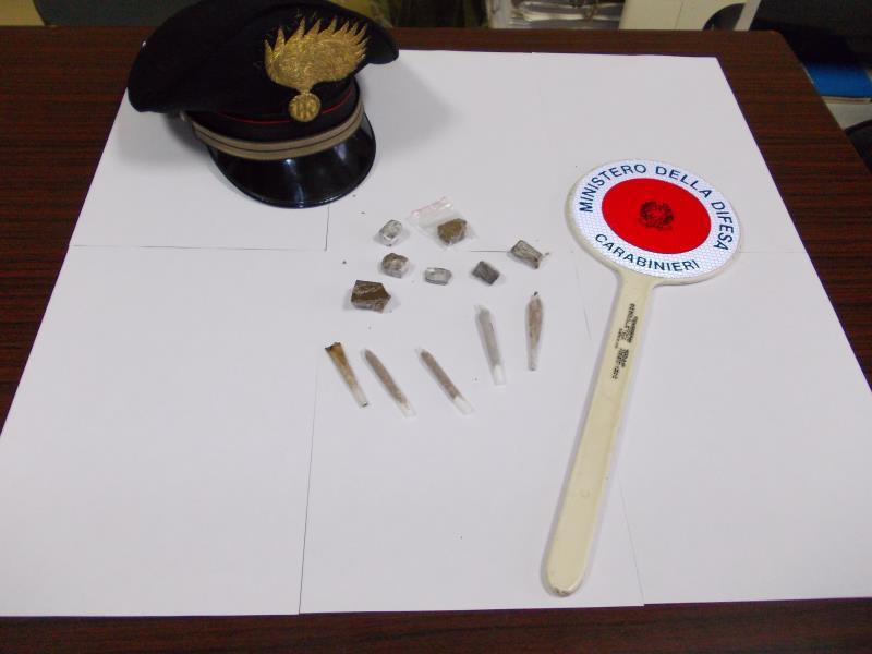 Droga sequestrata dai Carabinieri di Matera