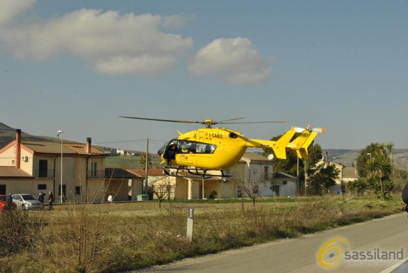 Elisoccorso a Picciano A - Matera (foto SassiLand)