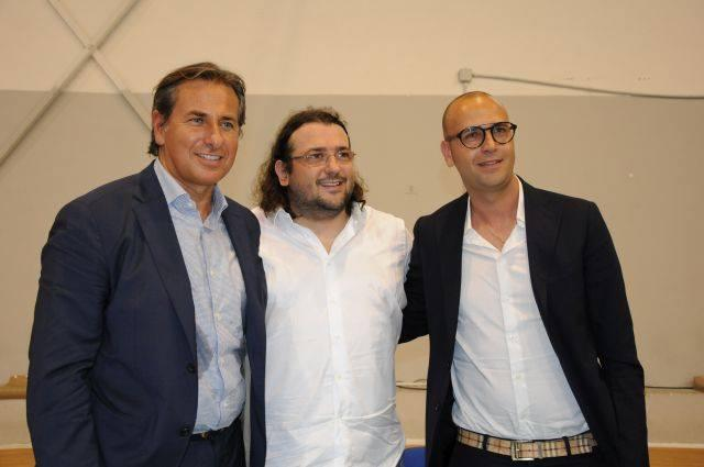 Gianluca Paparesta, Saverio Columella, Gianluca Torma