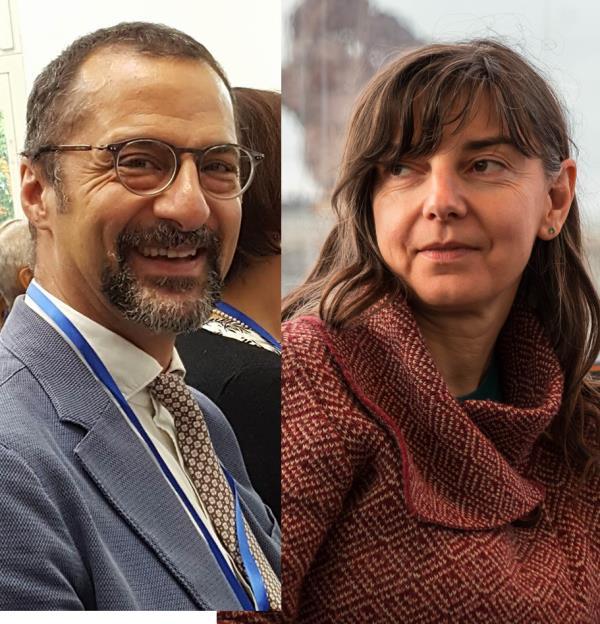 Giuseppe Romaniello e Ariane Bieou