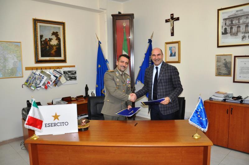 Sottoscritta intesa fra Regione Basilicata e ministero della Difesa