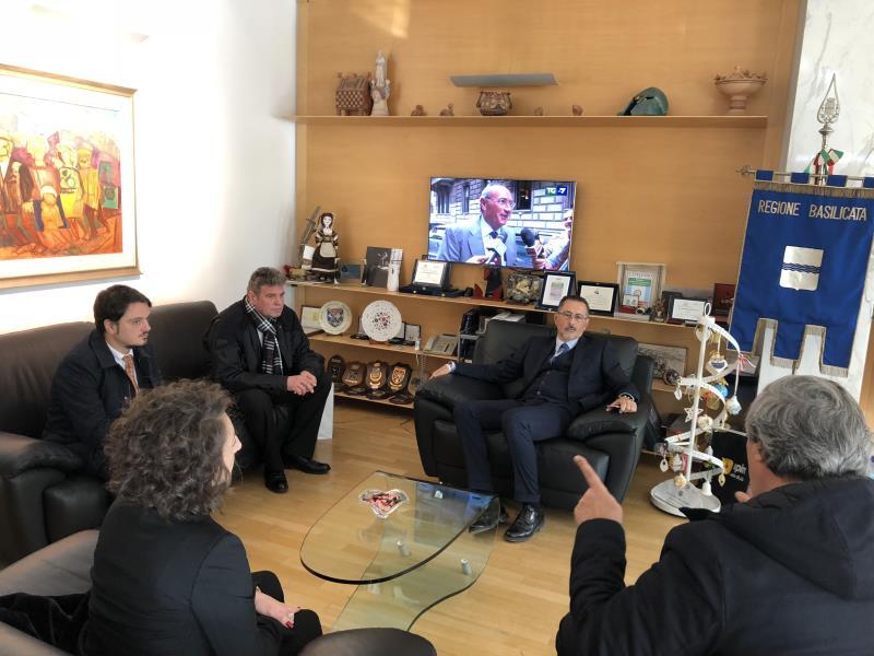 Incontro con delegazione rumena