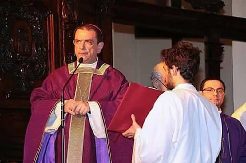 Monsignor Giovanni Intini  (foto Vito Sacco)