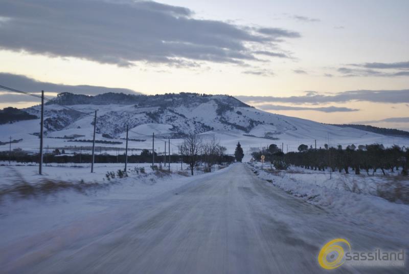 Neve tra La Martella e Timmari - 6 gennaio 2017