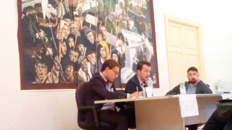 Nuova associazione culturale a San Mauro Forte, La cerimonia di presentazione a Palazzo Arcieri