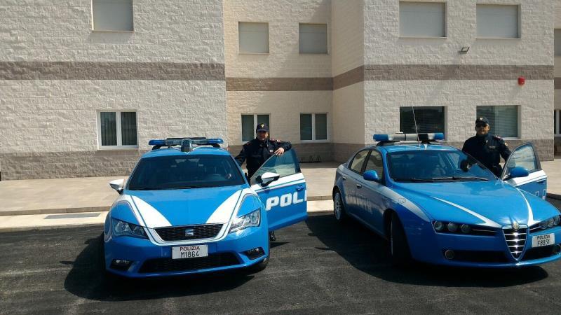 Pattuglie della Polizia di Stato