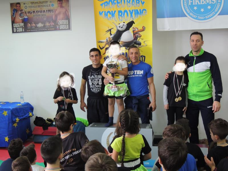 Trofeo Baby di Kickboxing alla Dinamic Center