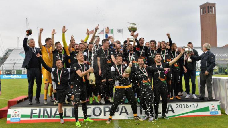 COPPA ITALIA LEGA PRO: IL VENEZIA CAMPIONE