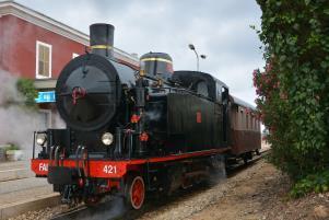 Treno a vapore delle Ferrovie Appulo Lucane - Matera