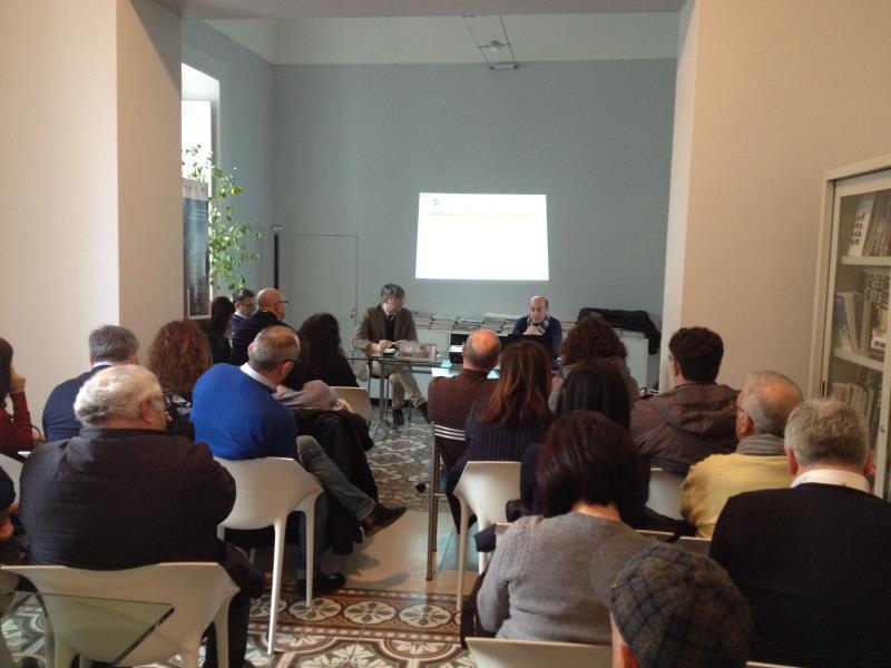 Cerimonia di consegna dei timbri professionali ad 8 nuovi architetti a Matera