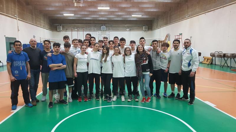 Gli studenti del Liceo Sportivo di Matera