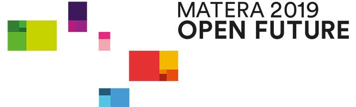 Il nuovo logo di Matera 2019