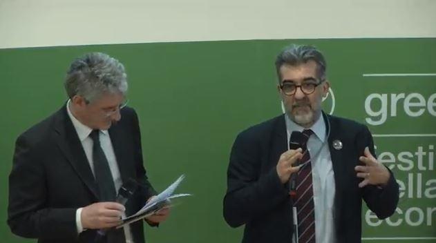 """Paolo Verri all´incontro """"L´economia green e la ripresa del Paese"""""""