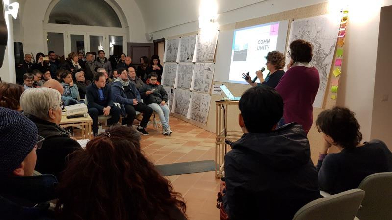 Presentazione della nuova piattaforma della Community Matera 2019