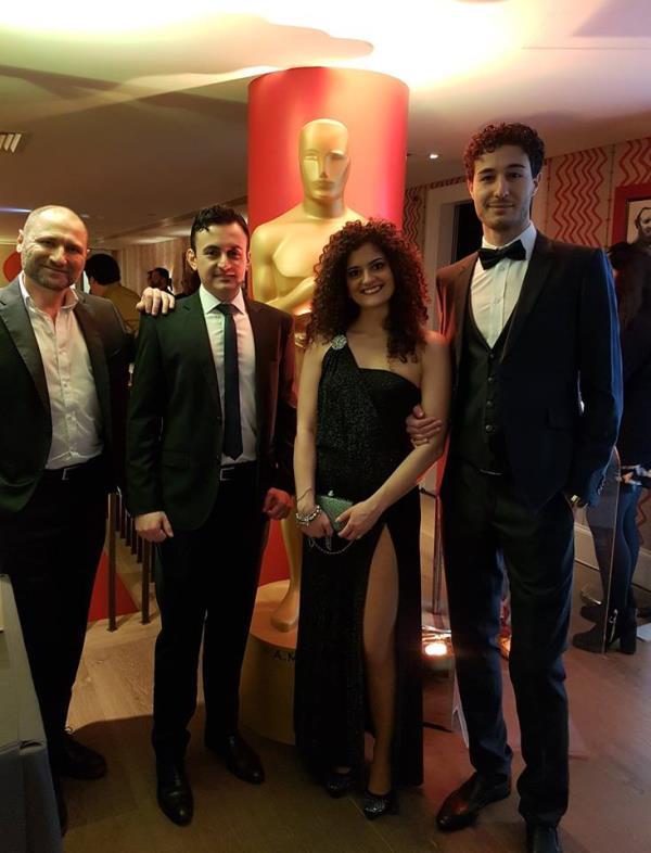 Voce Spettacolo alla Notte degli Oscar di Londra