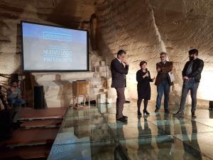 Presentazione del nuovo logo di Matera 2019
