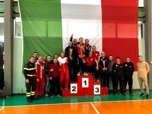 Tennistavolo: Il Comando Provinciale Vigili del Fuoco di Matera è Campione di Italia