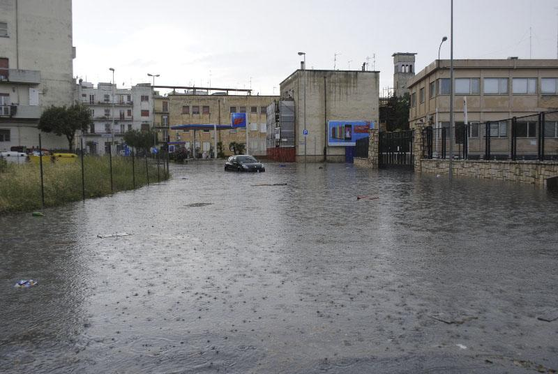 Nubifragio a Matera - 9 luglio 2013 (foto SassiLand)