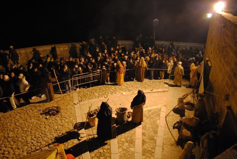 Presepe vivente a Matera - 2010 (foto SassiLand)