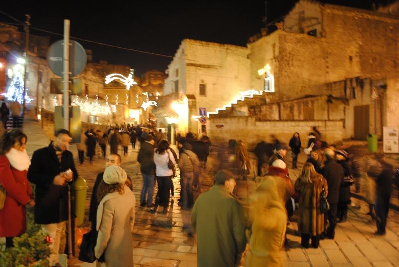Presepe vivente a Matera - 2010
