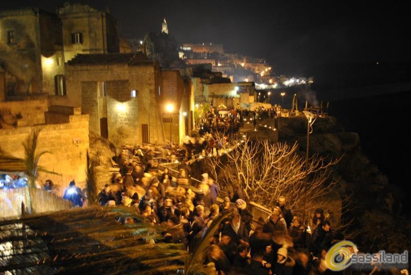 Presepe Vivente nei Sassi di Matera 2015 (foto SassiLand)