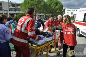 Simulazione emergenza a La Martella - 26 settembre 2015 (foto SassiLand) - Matera